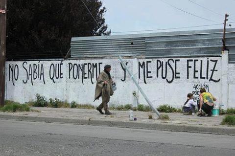 """""""NO SABÍA QUE PONERME Y ME PUSE FELIZ"""""""